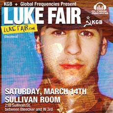 Luke Fair - Sullivan Room